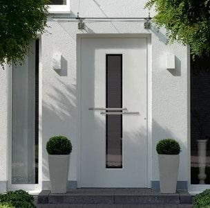 blanke bauelemente berlin haust ren aus alu. Black Bedroom Furniture Sets. Home Design Ideas