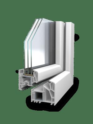 Fenstersystem VEKA Alphaline 90