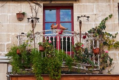 Bodentiefes Fenster im Altbau © Marianne J. PIXELIO www.pixelio.de
