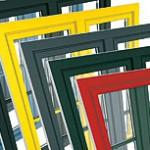 Farbgestaltungsmöglichkeiten bei Kunststofffenstern