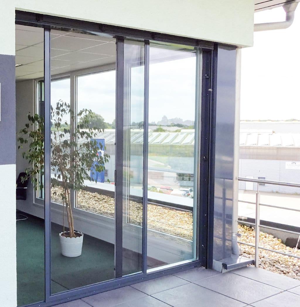 Einbruchsschutz an Fenstertüren