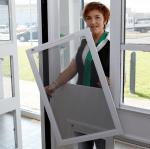 Spannrahmen für Fenster zum Einhängen