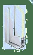 Bild: Haustür: Kunststoffprofil-Türen