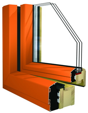 Holz-Alu-Passivhausfenster