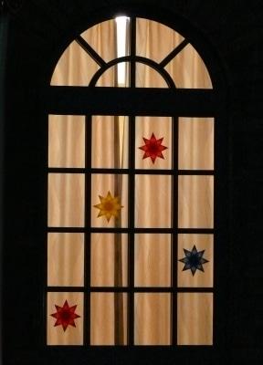 Weihnachtssterne am Fenster © Palmera PIXELIO www.pixelio.de